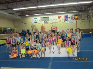 Easter Gymfest 2013