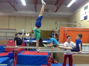 Canada Games Training - Dave Kikuchi