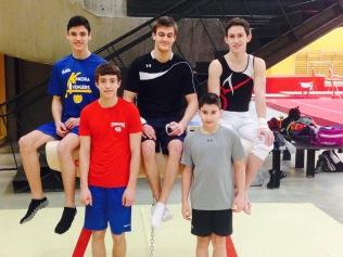 Ted, Alex, Matt, Isaac, Ryan